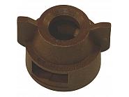 CP256077NY Kołpak, pokrywka dyszy brązowa 13 mm