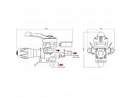 F36969 Układ sterujący do belki opryskiwacza Arag