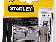 028510 Skrobak do szkła Stanley, noże zapasowe 10 szt.