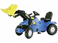 R04671 Traktor Rolly Farmtrac New Holland TD 5050 z ładowaczem