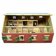 610595 Stajnia drewniana dla koni SCHLEICH, KIDS GLOB