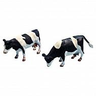 571873 Krowy, czarne/kolorowe 1:32