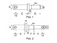 1380301020 Sworzeń do maszyn M22/28 mm