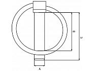 LP7KR Zawleczka, 7 mm