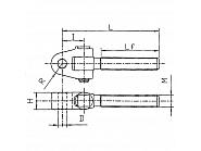 TFS01DX Trzpień górnego drążka kierującego, kat. 2 CBM