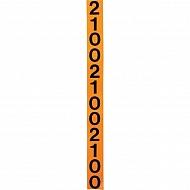 3065400 Naklejka kontrolna przekładni, 2-częściowa