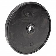 6500400300010 Membrana pompy, AR O 115 boczna z otworem, guma, Pasuje do pomp Annovi Reberberi, 115 mm