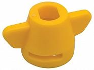 6200-334371 Kołpak rozpylacza, żółty