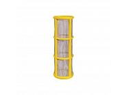 615445 Wkład filtra liniowego, mesh 100, żółty, pasuje do Hardi