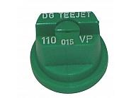 DG110015VP Dysza płaska strumienna DG 110°,zielone tworzywo sztuczne