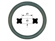 XR1237262P010 X-ring kwadrat 12,37x2,62 mm