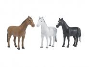 U02306 Konie (16 sztuk w 3 kolorach)