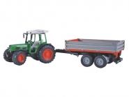 U02104 Traktor Fendt 209 S z przyczepką