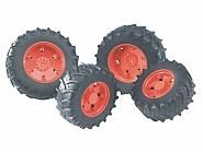 U03312 Koła bliźniacze pomarańczowe do Traktorów serii 1992-03