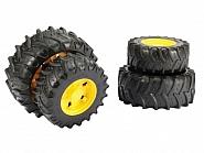 U03314 Koła bliźniacze żółte do Traktorów serii 1992-03