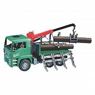 U02769 Ciężarówka MAN do przewozu bel drewna