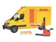 U02534 MB Sprinter DHL z wózkiem podnośnikowym