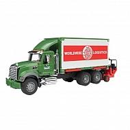 U02820 Ciężarówka Mack Granite z kontenerem i podnośnikiem