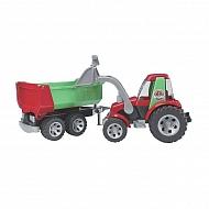 U20116 Traktor z ładowaczem i przyczepą Roadmax