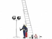 U62700 Figurka strażaka z akcesoriami