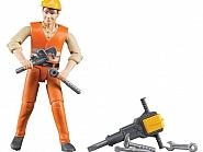U60020 Zabawka figurka robotnika z akcesoriami