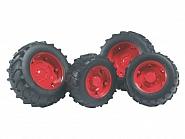 U02322 Koła bliźniacze czerwone do Traktorów serii 1992-02
