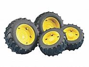 U02321 Koła bliźniacze żółte do Traktorów serii 1992-02