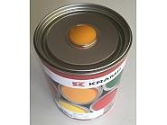 117008KR Lakier, farba pasujący do maszyn JCB, oryginalny kolor producenta, żółta, żółty od 1990 roku 1 L