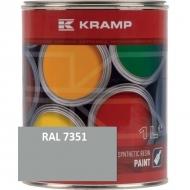 735108KR Lakier, farba pasuje do maszyn Valtra, szary, szara 1 L, oryginalny kolor producenta