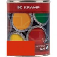 200208KR Lakier, farba do maszyn BIZON,  RAL, 2002 czerwony ceglasty 1 L, RAL 2002
