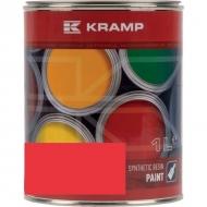 305008KR Lakier, farba pasuje do maszyn AGM, czerwony, czerwona 1 L