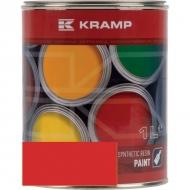 305508KR Lakier, farba pasuje do maszyn Agria, czerwony, czerwona 1 L
