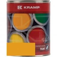 141008KR Lakier, farba pasuje do maszyn Akerman, żółty, żółta 1 L