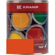 205008KR Lakier, farba pasuje do maszyn Amac, pomarańczowy, pomarańczowa 1 L