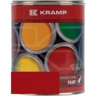 306008KR Lakier, farba pasuje do maszyn Amac, czerwony, czerwona od roku 1992 1 L