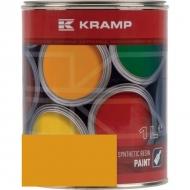 105008KR Lakier, farba pasuje do maszyn Atlas, żółty 1 L