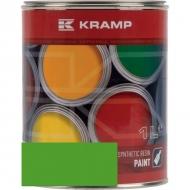 606508KR Lakier, farba pasuje do maszyn Auwater, zielony 1 L