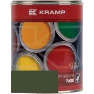 607008KR Lakier, farba pasuje do maszyn Auwarter, oliwkowo-zielony 1 L