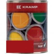 307008KR Lakier, farba pasujący do maszyn Becker, czerwony 1 L