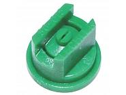 ST80015 Dysza płaskostrumieniowa  ST 80° zielona, tworzywo sztuczne