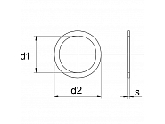 988658501P025 Podkładka pasowana 65x85x0,1 mm