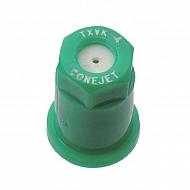 TXVK4 Dysza o pustym stożku TXVK 80° zielona