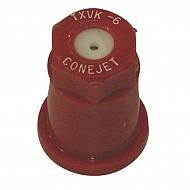 TXVK6 Dysza o pustym stożku TXVK 80° czerwona