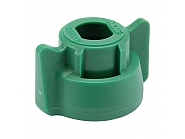 40290205 Pokrywka dyszy 10 mm zielony