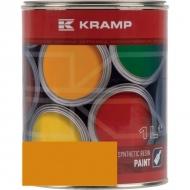 108008KR Lakier, farba pasujący do maszyn Climax, żółta, żółta 1 L