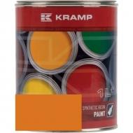 225508KR Lakier, farba pasujący do maszyn Doosan, pomarańczowy, pomarańczowy 1 L