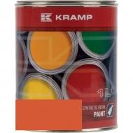 228008KR Lakier, farba pasujący do maszyn Doosan, pomarańczowy, pomarańczowa 1 L