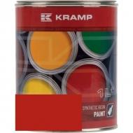 315008KR Lakier, farba pasujący do maszyn FAHR, czerwony, czerwona 1 L