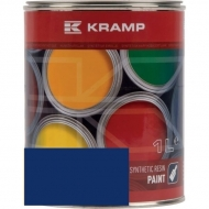 509508KR Lakier, farba pasujący do maszyn Fiona, niebieski, niebieska 1 L