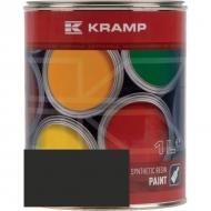 744508KR Lakier, farba pasująca do maszyn Wacker Neuson, ciemno-szara 1 L, oryginalny kolor producenta